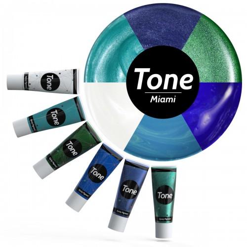 Tone Miami Epoksi Pigment Seti 6x25 ml