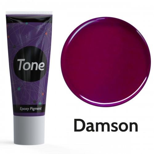 Resinin Tone Opaque Damson Opak Epoksi Pigment Renklendirici 25 ml