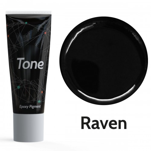 Resinin Tone Opaque Raven Opak Epoksi Pigment Renklendirici 25 ml