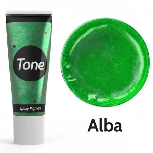 Resinin Tone Pearl Alba Epoksi Pigment Renklendirici Sedef Renk 25 ml