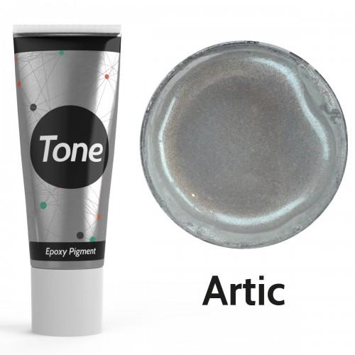 Resinin Tone Metallic Artic Epoksi Pigment Renklendirici Metalik Renk 25 ml