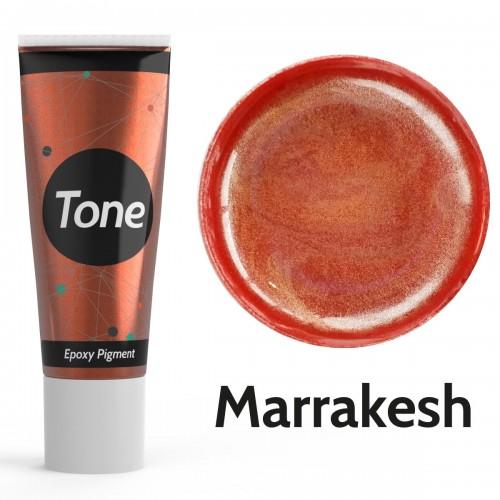 Resinin Tone Metallic Marrakesh Epoksi Pigment Renklendirici Metalik Renk 25 ml
