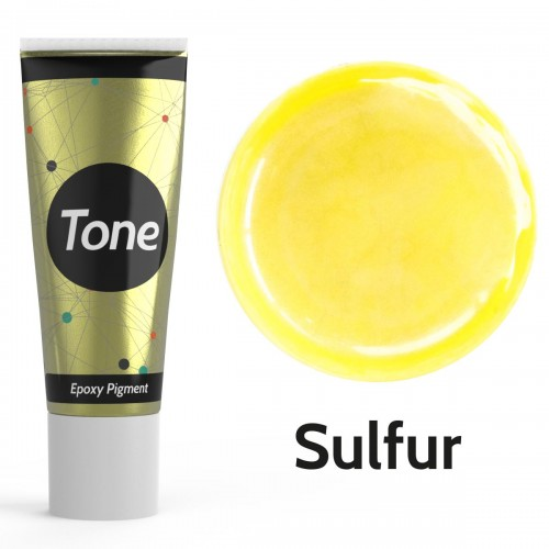 Resinin Tone Pearl Sulfur Epoksi Pigment Renklendirici Sedef Renk 25 ml