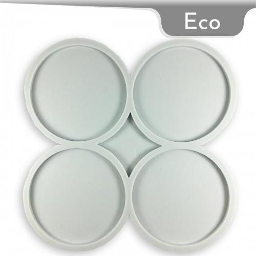 Mold-it Eco Bardak Altlığı Yuvarlak Silikon Kalıbı