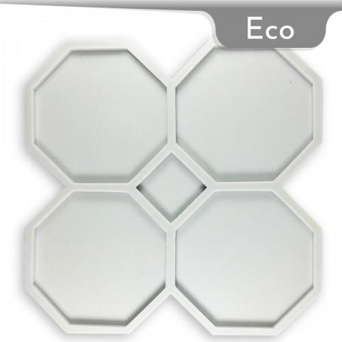 Mold-it Eco Bardak Altlığı Sekizgen Silikon Kalıp