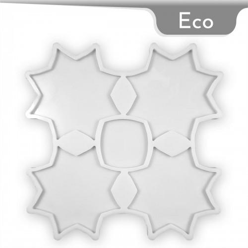 Mold-it Eco Bardak Altlığı Yıldız Silikon Kalıbı
