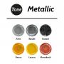 Tone Metallic Epoksi Renk Pigmentleri Metalik Renkler 30 ml